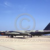 B-52 0029 A towed USAF Boeing B-52D Stratofortress jet bomber 550101 Vietnam War veteran 7-1968 military airplane picture by Peter B Lewis