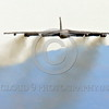 B-52 0146 A flying Boeing B-52H Stratofortress USAF jet bomber military airplane picture by Peter J Mancus
