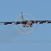 B-52 0142 A landing Boeing B-52H Stratofortress USAF jet bomber Nellis AFB military airplane picture by Peter J Mancus