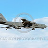 B-52 0212 A landing Boeing B-52H Stratofortress USAF jet bomber LA code military airplane picture by Peter J Mancus