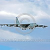 B-52 0206 A landing Boeing B-52H Stratofortress USAF jet bomber LA code military airplane picture by Peter J Mancus