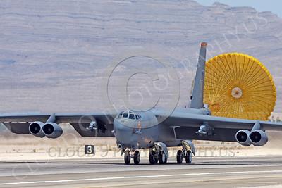 B-52 00134 Boeing B-52 Stratofortress USAF by Carl E Porter
