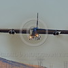 B-52 0126 A landing Boeing B-52H Stratofortress USAF jet bomber Nellis AFB military airplane picture by Peter J Mancus