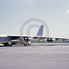 B-52 0017 A static bare metal USAF SAC Boeing B-52H Stratofortress jet bomber 10011 with Hound Dog missile 3-1965 military airplane picture by Peter B Lewis