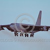 B-52 0122 A flying Boeing B-52G Stratofortress USAF jet bomber military airplane picture by Peter J Mancus