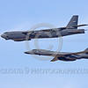 B-52 0094 A flying B-52 Stratofortress and B-1Lancer jet bombers military airplane picture by Peter J Mancus