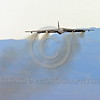 B-52 0136 A flying Boeing B-52H Stratofortress USAF jet bomber military airplane picture by Peter J Mancus