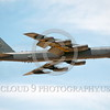 B-52 0102 A flying Boeing B-52H Stratofortress USAF jet bomber BD code military airplane picture by Peter J Mancus