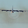 B-52 0190 A landing Boeing B-52H Stratofortress USAF jet bomber military airplane picture by Peter J Mancus