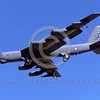 B-52 0194 A landing Boeing B-52H Stratofortress USAF jet bomber LA code 6-2002 military airplane picture by Peter J Mancus