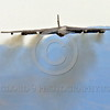 B-52 0128 A flying Boeing B-52H Stratofortress USAF jet bomber Nellis AFB military airplane picture by Peter J Mancus