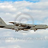 B-52 0210 A landing Boeing B-52H Stratofortress USAF jet bomber LA code military airplane picture by Peter J Mancus