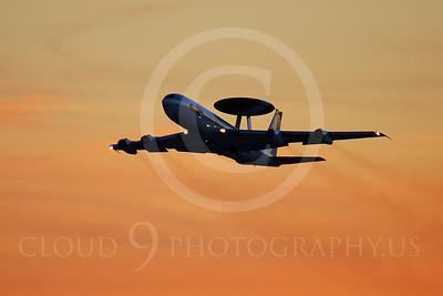 ARTYM 00034 Boeing E-3 Sentry USAF by Peter J Mancus