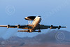 E-3USAF 00078 A Boeing E-3 Sentry USAF takes off from Nellis AFB 7-2014 military airplane picture by Peter J Mancus