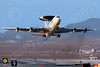 E-3USAF 00050 A Boeing E-3 Sentry USAF takes off from Nellis AFB 7-2014 military airplane picture by Peter J Mancus
