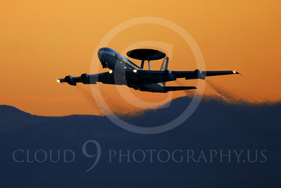ARTYM 00030 Boeing E-3 Sentry USAF by Peter J Mancus