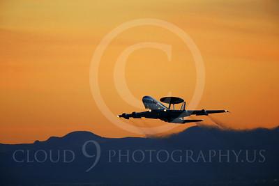 ARTYM 00022 Boeing E-3 Sentry USAF by Peter J Mancus
