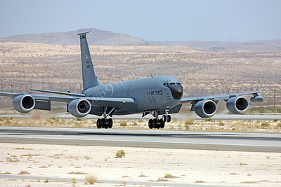 KC-135USAF 00010 Boeing KC-135R USAF Nellis AFB by Peter J Mancus