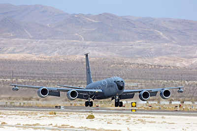KC-135USAF 00012 Boeing KC-135R USAF Nellis AFB by Peter J Mancus