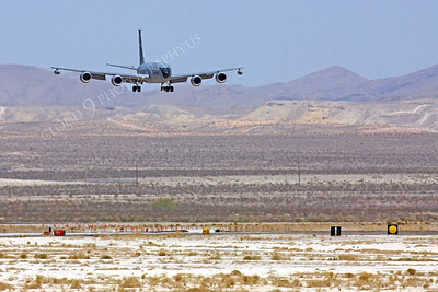 KC-135USAF 00014 Boeing KC-135R USAF Nellis AFB by Peter J Mancus