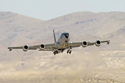 KC-135USAF 00016 Boeing KC-135R Stratotanker USAF Nellis AFB by Peter J Mancus