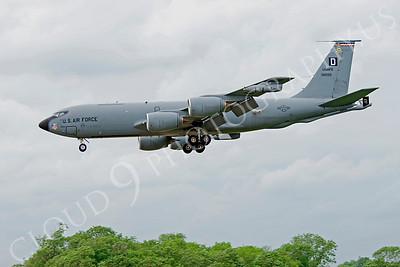 KC-135USAF 00038 Boeing KC-135R USAFE 38025 by Alasdair MacPhail