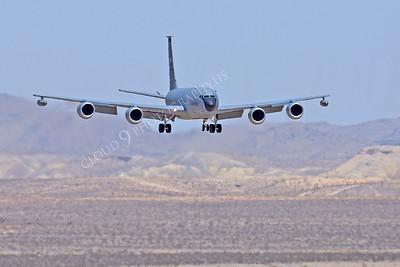 KC-135USAF 00024 Boeing KC-135R USAF Nellis AFB by Peter J Mancus