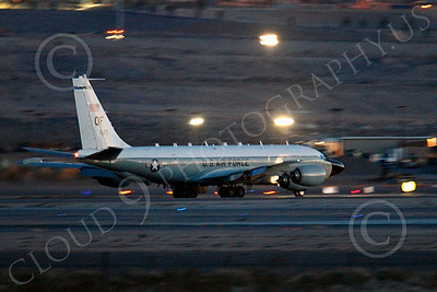 RC-135USAF 00065 Boeing RC-135W River Joint USAF militiary airplane picture by Peter J Mancus