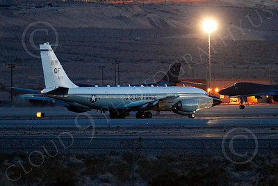 RC-135USAF 00001 Boeing RC-135W River Joint USAF militiary airplane picture by Peter J Mancus