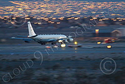 RC-135USAF 00053 Boeing RC-135W River Joint USAF militiary airplane picture by Peter J Mancus