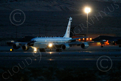 RC-135USAF 00007 Boeing RC-135W River Joint USAF militiary airplane picture by Peter J Mancus