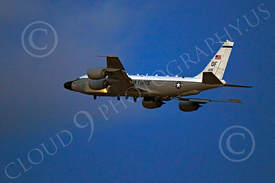 RC-135USAF 00048 Boeing RC-135W River Joint USAF 62125 militiary airplane picture by Peter J Mancus