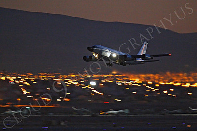 ArtyM 00130 Boeing RC-135V Rivet Joint USAF Nellis AFB by Peter J Mancus