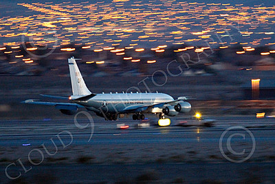 RC-135USAF 00033 Boeing RC-135W River Joint USAF militiary airplane picture by Peter J Mancus
