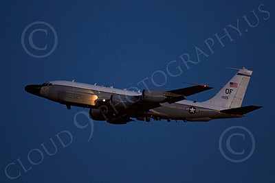 RC-135USAF 00016 Boeing RC-135W River Joint USAF 62125 militiary airplane picture by Peter J Mancus