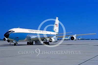 VC-135 00003 Boeing VC-135B USAF Andrews AFB 24 July 1973 by Frank MacSorley