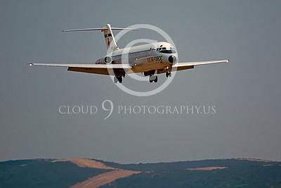 C-9-USAF 00002 Dougls C-9 Nightingale NAS Miramar Aug 1980 by Peter J Mancus