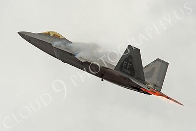 AB-F-22 00022 Lockheed Martin F-22 Raptor USAF 04068 by Peter J Mancus
