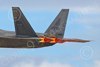 AB - F-22 00070 Lockheed Martin F-22 Raptor USAF 99011 2004 by Peter J Mancus