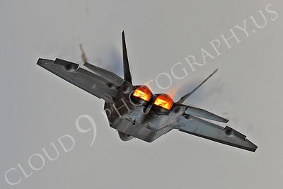 AB-F-22 00034 Lockheed Martin F-22 Raptor USAF 04068 by Peter J Mancus
