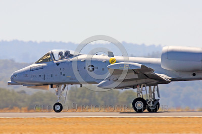 A-10USAF 00013 A taxing Fairchild Republic A-10 Thunderbolt II Warthog USAF attack jet military airplane picture by Peter J Mancus