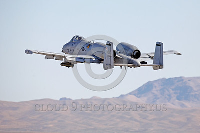 A-10USAF 00028 A flying Fairchiled A-10 Thunderbolt II USAF attack jet OT code military airplane picture by Peter J Mancus