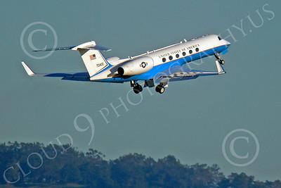 C-37 00008 Gulfstream Aerospace C-37 Gulfstream V USAF 70400 by Peter J Mancus