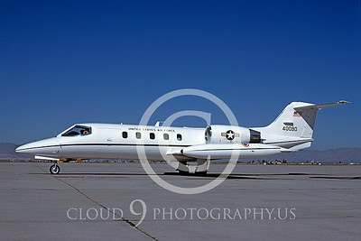 C-21USAF 00001 Learjet C-21A USAF April 1985 by Bob Shane
