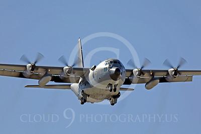 C-130USAF 00028 Lockheed C-130 Hercules USAF by Peter J Mancus