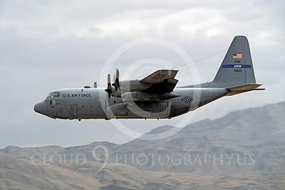 C-130USAF 00014 Lockheed C-130 Hercules USAF 41664 Dyess November 2003 Nellis AFB by Peter J Mancus