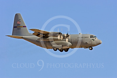 C-130USAF 00030 Lockheed C-130 Hercules USAF 79285 Flying Vikings by Peter J Mancus