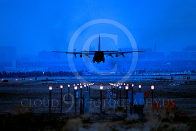 C-130USAF 00036 Lockheed C-130 Hercules USAF Nellis AFB November 2002 by Peter J Mancus