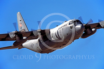 C-130USAF 00020 Lockheed C-130 Hercules USAF Team Little Rock 2003 by Peter J Mancus