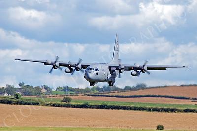 C-130USAF 00012 Lockheed C-130 Hercules USAF by Alasdair MacPhail
